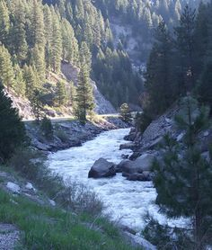 Payette River, Idaho...love driving by this on my way to Boise !