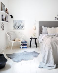 Scandinavian Home Design Ideas – choose white and grey