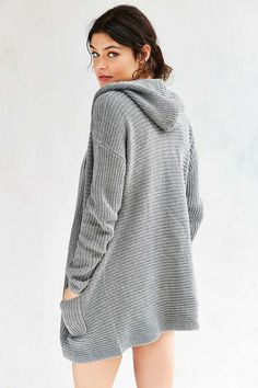 Kimchi Blue Dylan Hooded Cardigan