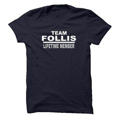 FOLLIS LIFETIME MEMBER - #diy gift #coworker gift. BEST BUY => https://www.sunfrog.com/Names/FOLLIS-LIFETIME-MEMBER.html?68278