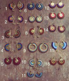 Organize & Storage: 17 Brilliant DIY Laundry Room Organization Ideas And Tips Macrame Necklace, Macrame Jewelry, Beaded Earrings, Etsy Macrame, Brass Jewelry, Tribal Jewelry, Card Weaving, Bijoux Fil Aluminium, Micro Macramé