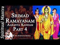 Srimad Ramayanam - Aaranya Kandam Part 4 || By Sri Dushyanth Sridhar || Aranya Kanda - YouTube