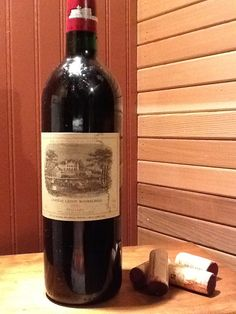 1996 Lafite Rothschild... What started it all.
