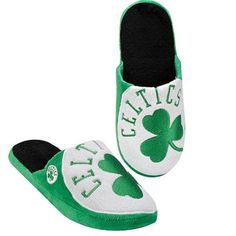Boston Celtics Big Logo Slipper