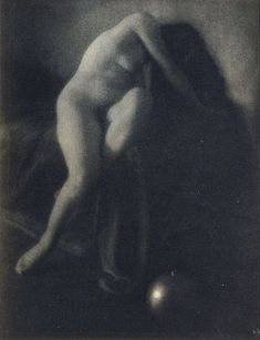 "Edward Jean Steichen, Bivange, Luxembourg, (1879-1973). American photographer, painter, and art gallery and museum curator. ""In Memoriam"" (1906). Photogravure print."