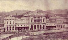 1902 - 1905 GENOVA (GE) STAZIONE FERROVIARIA BRIGNOLE by GIOVANNI OTTIMO