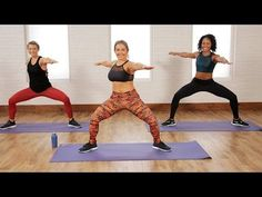 Low-Impact Cardio and Toning Workout That's Perfect For Beginners, Too | Class FitSugar - YouTube