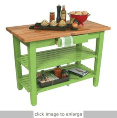 This could be a good replacement for the existing worn out island in my kitchen.