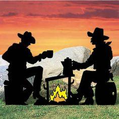 Cowboy Silhouette Pattern $7.99