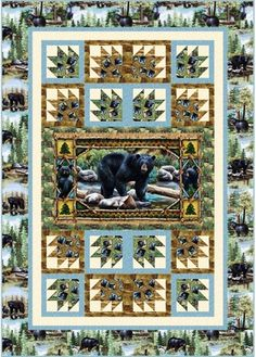- Bear Country Quilt Kit - Craft Town Fabrics