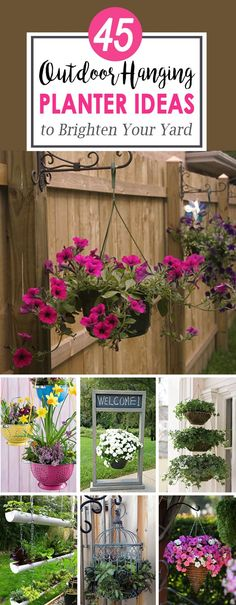 As summertime approaches, you may want to consider one or two outdoor hanging planter ideas to add a bit of color to your front porch or garden. Hanging planters can add a bit of vibrancy to places where traditional potted flowers may not be ideal and are usually low maintenance. They can also...