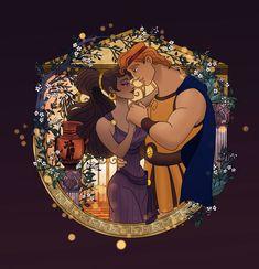 Image about disney in Mi estilo by Candeeh Vence Disney Artwork, Disney Fan Art, Disney Drawings, Disney Pixar, Walt Disney, Meg Hercules, Disney Hercules, Megara Disney, Disney Princesses