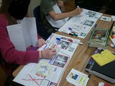 The Middle School Mouth: a GREAT blog with ideas for middle school and interactive notebooks. Now I need to morph these ideas to paperless...