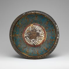 Gemellion (Hand Basin) with a Knight on Horseback  Date: ca. 1250–75 Geography: Made in, Limoges, France