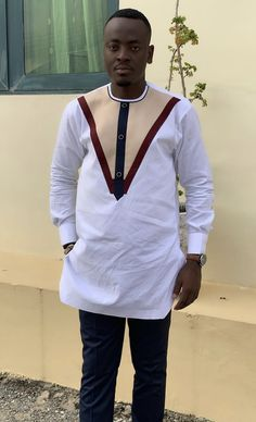 Emright Clothing African Shirts For Men, African Dresses Men, African Attire For Men, African Clothing For Men, African Wear, Nigerian Men Fashion, African Men Fashion, Fashion Wear, Mens Fashion