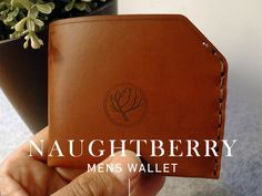 Naughtberry Handmade Leather Wallet - Chestnut