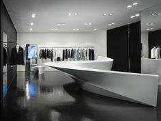 Zaha Hadid: Shop in Shop concept for Neil Barrett