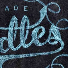 How to Create a Chalk Logo Effect in Photoshop — Tuts. This is another specific text effect, but I thought it was pretty affective. The process involves hands on work, plus editing in Photoshop, and it doesn't look too complicated.