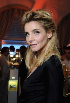 Julie Gayet Half Up Half Down