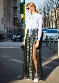 #streetstyle #look #srping #fashion #inspiration #sheer