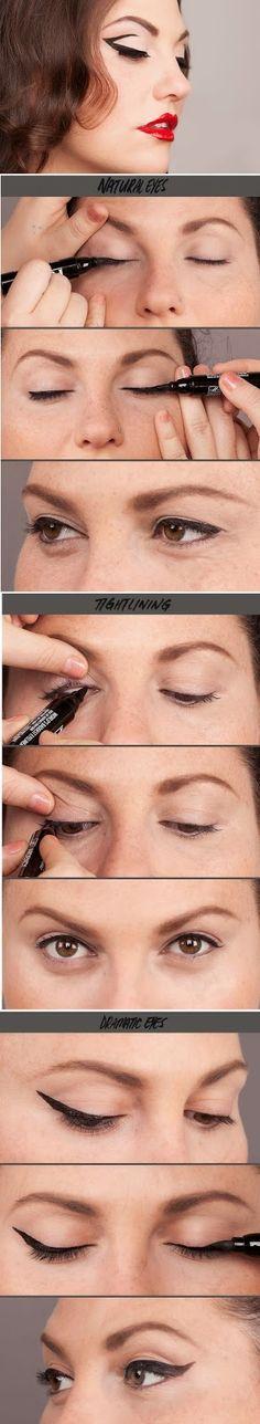 How to : Punker Eyeliner | Makeup Tutorials / Best LoLus Makeup Fashion