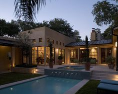 Beautiful Modern style home Redwood and stucco siding houses on