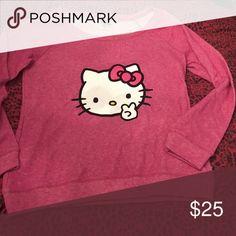 Hello kitty sweater Like new Hello Kitty Tops Sweatshirts & Hoodies