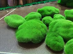 Green Fake Moss Stone per bag by sophieliu2 on Etsy