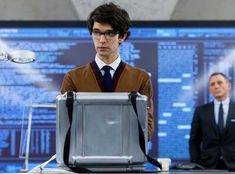 Ben Whishaw as a youthful Q in Skyfall -  Perfect costume design.