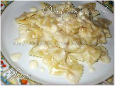 Farfalle in salsa di gorgonzola