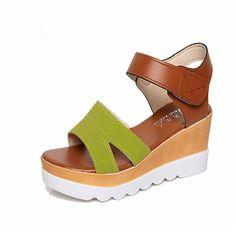 $13.00 (Buy here: https://alitems.com/g/1e8d114494ebda23ff8b16525dc3e8/?i=5&ulp=https%3A%2F%2Fwww.aliexpress.com%2Fitem%2FNew-sandals-women-Summer-fashion-beach-sandals-platform-open-toe-wedges-casual-female-shoes-sandalias-mujer%2F32708498632.html ) New sandals women Summer fashion beach sandals platform open toe wedges casual female shoes sandalias mujer shoes woman X418 for just $13.00