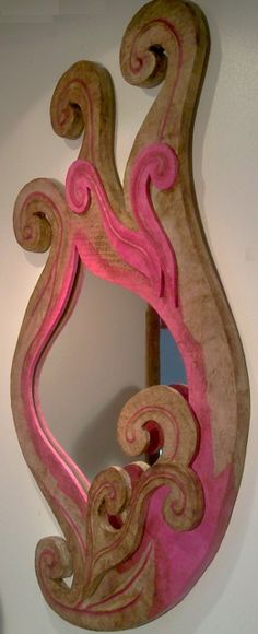 "Miroir ""Arabesques"" http://www.collection-carton.fr/product.php?id_product=110"