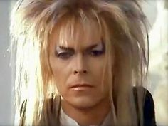 David Bowie. I thought he was beautiful in this movie!!! LOVE the wig. =0)