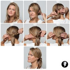 Řekněte svobodě sbohem stylově. Třeba s netradičním culíkem neboli soutěžním tutorialem č. 12. Bobby Pins, Hair Accessories, Beauty, Hairpin, Hair Accessory, Hair Pins, Beauty Illustration
