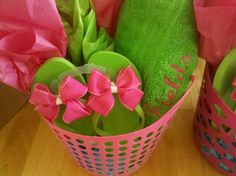 more gift basket filler, theme ideas teacher birthday baby shower summer beach flip-flops gardening baking