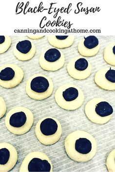 Simple ingredients and easy to make, these tiny shortbread type cookies are topped with dollops of fudgy goodness Susan Cookie Recipe, Susan Recipe, Cupcake Recipes, Cookie Recipes, Breakfast Potluck, Delicious Desserts, Yummy Food, Black Eyed Susan, No Bake Treats