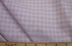"""100%+Cotton+-+61""""+Wide+Imported+Cotton+Plaid,+Lavender"""