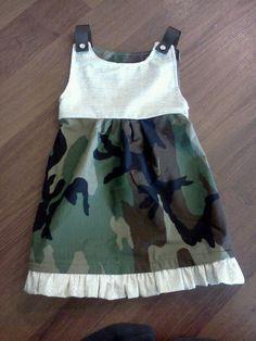 Super Cute bdu dress! Custom order!
