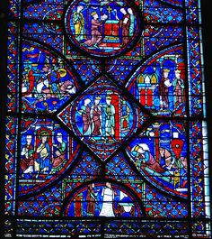 Charlemagne the Great, Stained Glass Window in Chartres Cathedral. Medieval Stained Glass, Stained Glass Church, Stained Glass Angel, Stained Glass Windows, Leaded Glass, Mosaic Glass, Arte Latina, 7 Arts, Loire Valley
