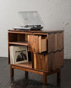 We are obsessed with vinyls lately. This would be the perfect addition to our home.