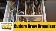 Make this easy Draw organiser - Off the Cuff - Wacky Wood Works.