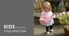 Baby and children's Cashmere wraps, blankets and Ponchos