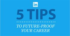 Why it Pays to be Adaptable: Tips to Future-Proof Your Career  --- http://blog.linkedin.com/2014/04/07/why-it-pays-to-be-adaptable-tips-to-future-proof-your-career/?utm_content=sf24770040&utm_medium=spredfast&utm_source=twitter&utm_campaign=LinkedIn+Social&sf24770040=1