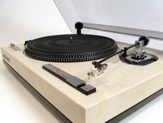 Kenwood turntable with composite base. http://www.pinterest.com/TheHitman14/the-record-player-%2B/