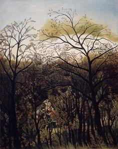 Forest Rendezvous (Henri Rousseau - ) 1886-1889