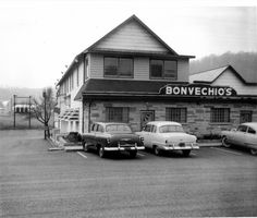 1950's restaurant | Bonvechio's, Wainwright's popular restaurant, in the 1950s.