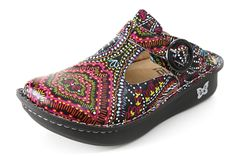 Alegria Donna Electro Native womens leather slip resistant professional shoes