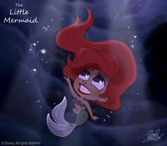The Little Mermaid by David Gilson