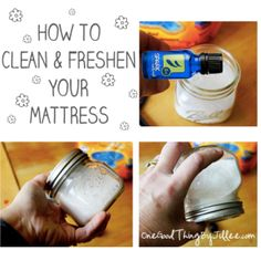 How to clean & freshen your mattress