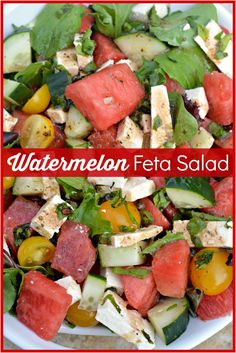Watermelon Feta Salad by Hip2Save | Not Your Grandma's Coupon Site